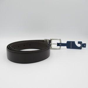 Cole Haan Men's Reversible Leather Belt Brown 40